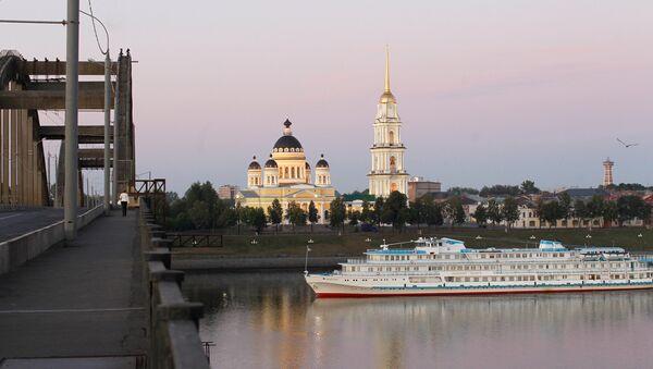 Города России. Рыбинск. Архивное фото