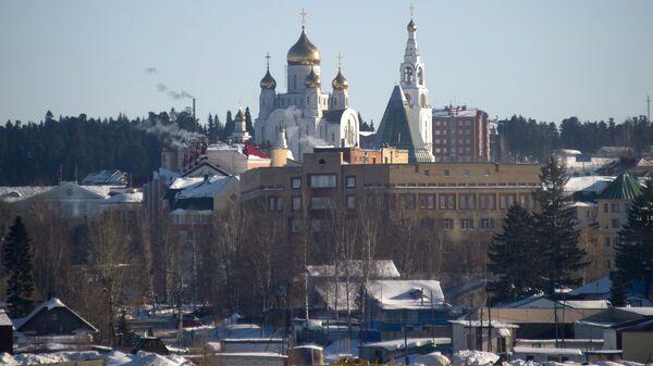 Вид Ханты-Мансийска