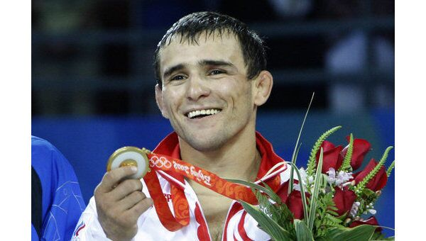 Назир Манкиев завоевал золотую медаль в олимпийского турнира по греко-римской борьбе