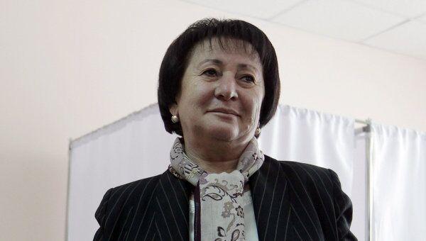 Экс-кандидат на пост президента Южной Осетии Алла Джиоева. Архив