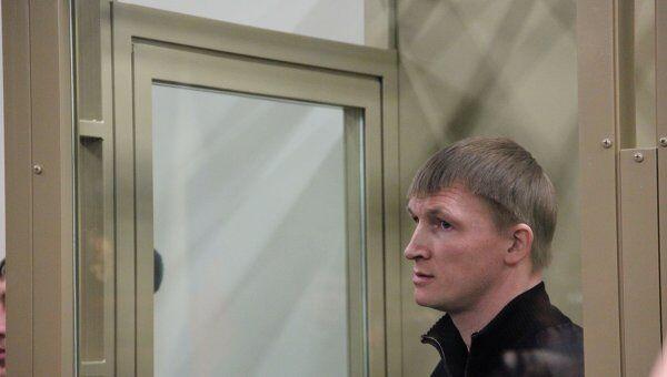 Член банды Сергея Цапка Андрей Быков на заседании суда в Краснодаре