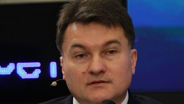 Юрий Зинченко на пресс-конференции