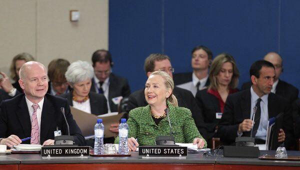 Госсекретарь США Хиллари Клинтон в Брюсселе