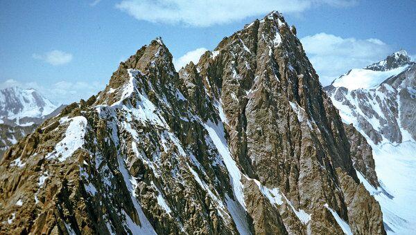 Памир. Горно-Бадахшанская автономная область. Пик Яна Фабрициуса