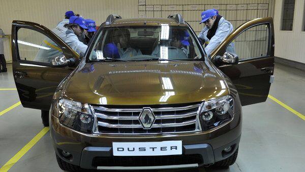 Начало сборки автомобилей Renault Duster в Москве. Архивное фото