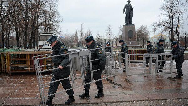 Усиление мер безопасности в Москве