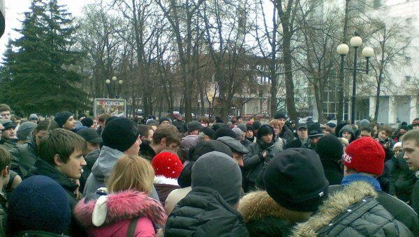 Митинг За честные выборы в Белгороде