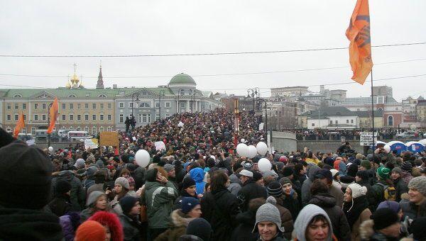 Акция на Болотной площади глазами очевидцев
