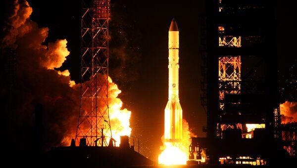 Запуск ракеты-носителя. Архивное фото