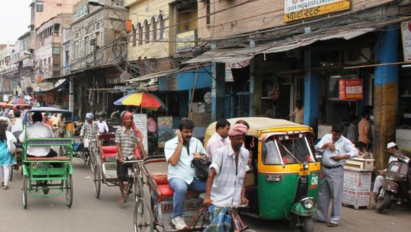 Улица в Дели. Архивное фото
