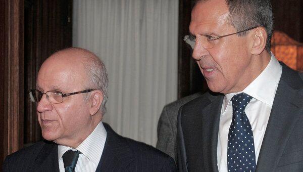 Встреча глав МИД России и Алжира в Москве. Архивное фото