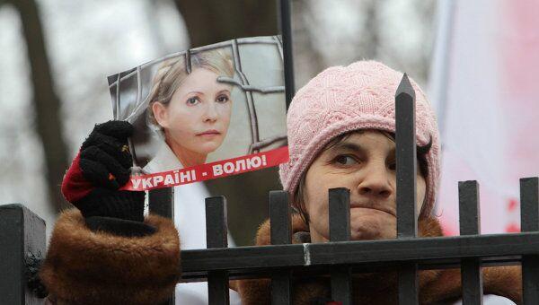 Рассмотрение жалобы Ю.Тимошенко в Апелляционном суде Киева