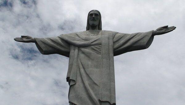 Статуя Христа в Рио-де-Жанейро. Архив