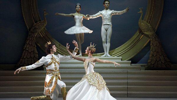 Репетиции балета Спящая красавица в Михайловском театре