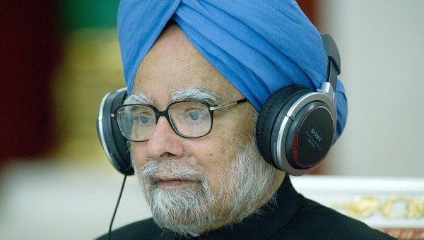 Премьер-министр Индии Манмохан Сингх, архивное фото
