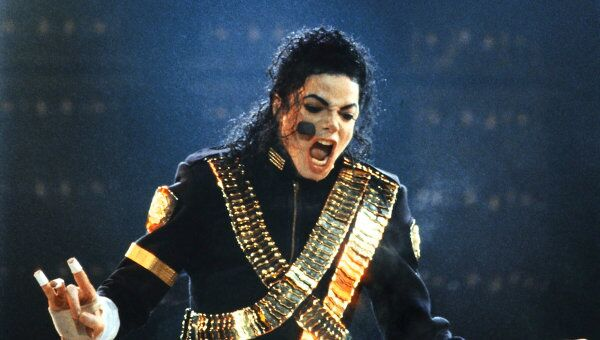 Концерт американского певца Майкла Джексона
