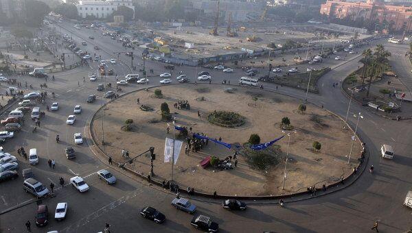 Демонстранты открыли движение автотранспорта на площади Тахрир в Египте