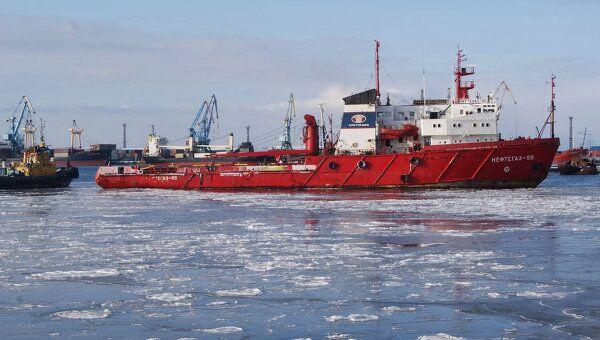 Поисково-спасательная операция после крушения платформы Кольская