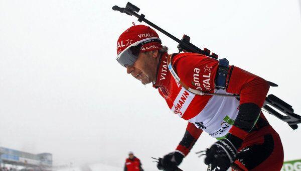 Норвежский биатлонист Ула Айнар Бьорндален