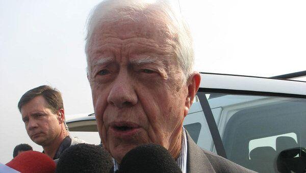 Экс-президент США Джимми Картер. Архив
