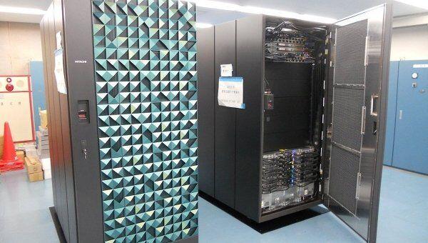 Суперкомпьютер Hitachi SR16000 в университете Токио