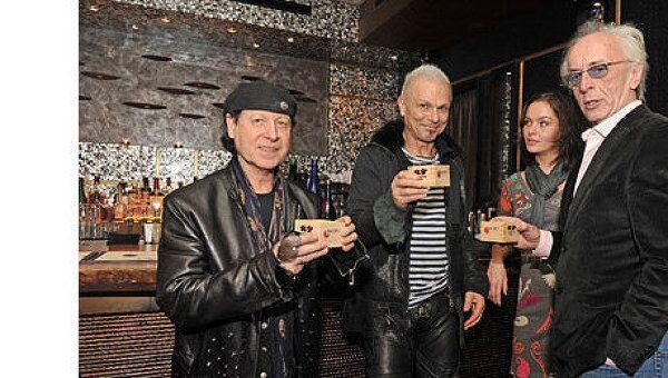 Группа Scorpions в Москве