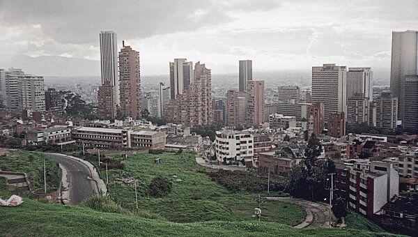 Ситуация в Колумбии. Архивное фото