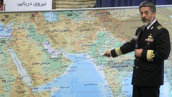 Военно-морские силы Ирана начали масштабные учения в Ормузском проливе