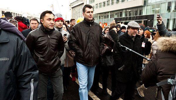 Знаменитости на площади Сахарова: московский митинг 24 декабря