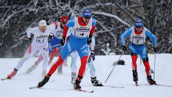 В Подмосковье прошли традиционные всероссийские соревнования Красногорская лыжня