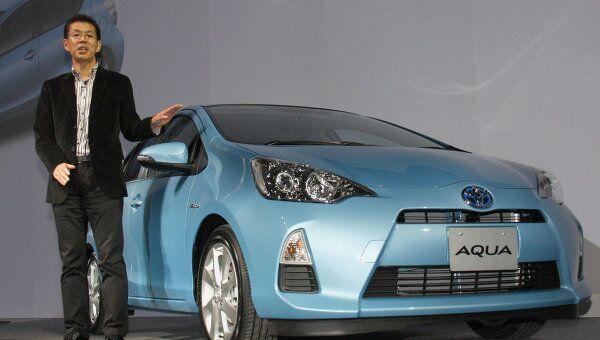 Toyota объявила о старте производства нового гибрида Toyota Aqua в Японии