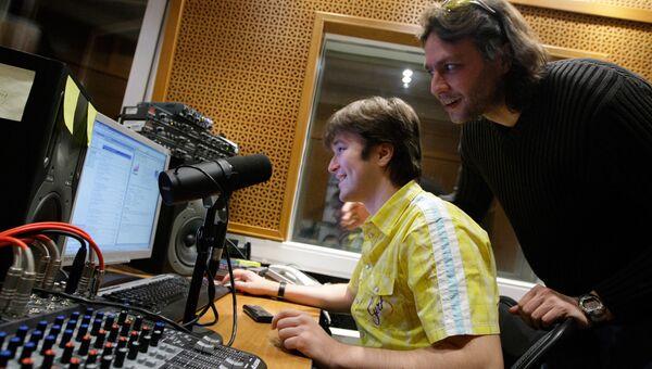 Звукорежиссерская комната радиостанции ENERGY