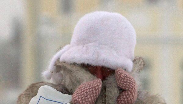 Пятидесятиградусные морозы в Якутии продержатся еще неделю