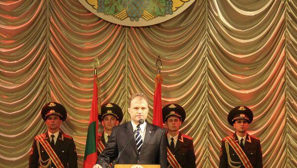 Инаугурация президента Приднестровья Евгения Шевчука