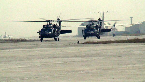 Вертолеты ISAF