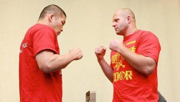 Федор Емельяненко и Сатоси Исии