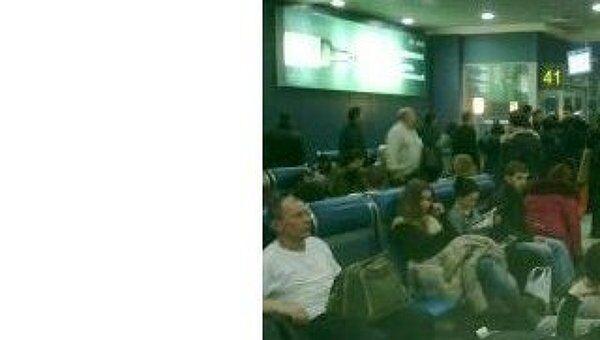 Более 20 авиарейсов задерживаются в Домодедово. Архив