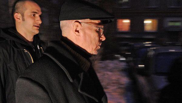 Лидер Другой России Эдуард Лимонов