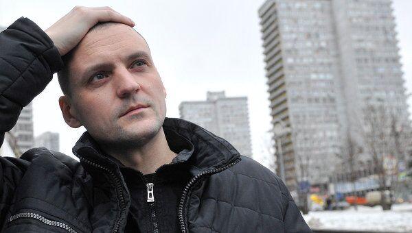Координатор движения Левый фронт Сергей Удальцов