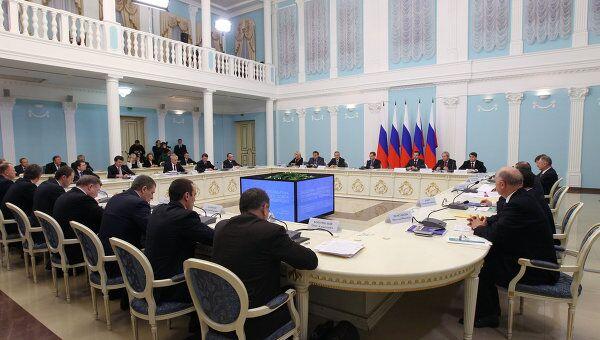 Рабочая поездка Д. Медведева в Саранск