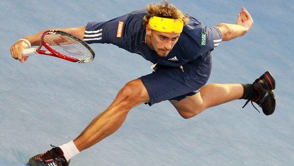 Российский теннисист Александр Кудрявцев. Архивное фото