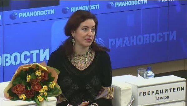 Тамара Гвердцители: 25 лет на сцене