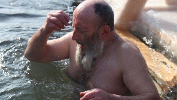 Крещенская купель. Архив