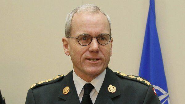 Председатель военного комитета НАТО Кнуд Бартельс. Архивное фото