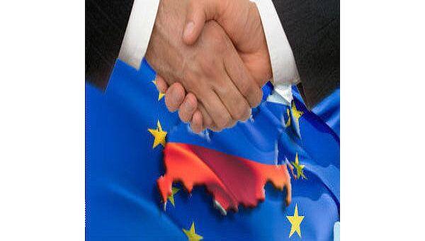 Россия и ЕС. Коллаж