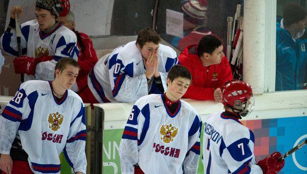 Зимняя Юношеская Олимпиада - 2012. Хоккей. Финал. Матч Россия - Финляндия