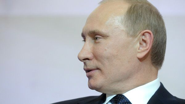Премьер-министр РФ Владимир Путин принял участие в Форуме народов Юга России