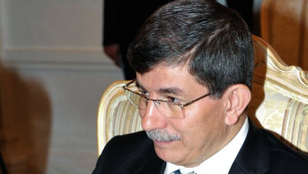Министр иностранных дел Турции Ахмет Давутоглу. Архив