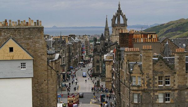 Эдинбург. Архив