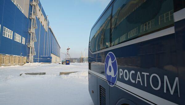 Хранилище отработанного ядерного топлива в Железногорске. Архив